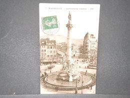 FRANCE - Type Semeuse Perforé Sur Carte Postale De Marseille En 1911 - L 15778 - Perforés