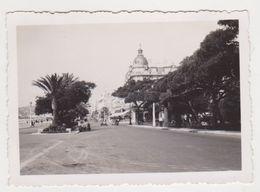 26499 Onze 11 Photo Cote D'azur Nice -casino Quai Etats Unis Promenade Anglais  Baie Anges Vieux -sans Doute Vers 1950 - Lieux
