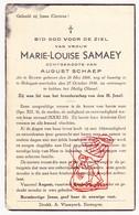 DP Marie L. Samaey ° Roksem Oudenburg 1866 † Bekegem Ichtegem 1936 X August Schaep - Devotion Images