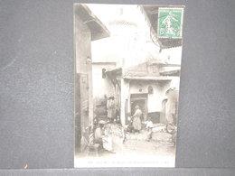 FRANCE - Type Semeuse Perforé Sur Carte Postale De Alger En 1914 - L 15779 - Perforés