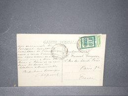 COTE DES SOMALIS - Affranchissement De Djibouti Sur Carte Postale En 1923 Pour Paris - L 15782 - Côte Française Des Somalis (1894-1967)