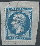 Lot N°41747  N°22/fragment, Oblit GC 927 Château-Villain, Haute-Marne (50), Ind 4 - 1862 Napoleon III