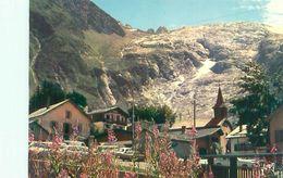Massif Du Mont Blanc - Le Village Du Tour Et Le Glacier    J478 - Autres Communes