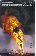 Kuwait - Burning Oil Field - 36KWTL - 1996, Used - Kuwait