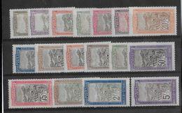 MADAGASCAR - YVERT N° 94/110 * - COTE = 45 EUROS - CHARNIERE PROPRE - Madagascar (1889-1960)