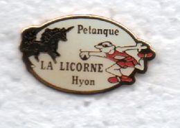 PETANQUE..LA LICORNE.HYON - Bowls - Pétanque