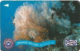 Malaysia (Uniphonekad) - Orange Sea Fan - 67MSAA - 1994, 200.000ex, Used - Malaysia
