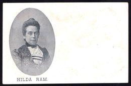 HILDA RAM * SCHRIJVER - ECRIVAIN ( 1858-1901) ANTWERPEN - VLAAMSE SCHRIJFSTER - Zeldzaam - Ecrivains