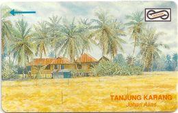 Malaysia (Uniphonekad) - Tanjung Karan - 53MSAC - 1993, 50.000ex,, Used - Malaysia