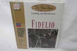 """CD """"FIDELIO / Ludwig Van Beethoven"""" Mit Buch Aus Der CD Book Collection (ungeöffnet, Original Eingeschweißt) - Opera"""