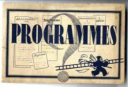 LES CROIX DE FEU  ONT ILS UN PROGRAMME  -  LIVRET TRACT PUBLICITAIRE 1936   -  16  PAGES - 1939-45