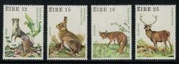 Irlande // 1980-1989 // Animaux Sauvages Timbres Neufs ** Y&T  424-427 - 1949-... République D'Irlande