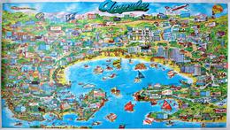 Acapulco, Poster & Plan Von Acapulco Von 1979 - Plakate