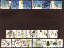 Nederland 2013, Netherlands, Niederlande, Pays-Bas, December, Kerstzegels, Christmas, Noel - Gebruikt