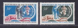 HAUTE-VOLTA N°  190 & 191 ** MNH Neufs Sans Charnière, TB (D6255) OMS, Organisation Mondiale De La Santé - Haute-Volta (1958-1984)