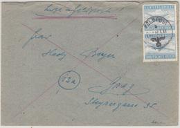 Luft-Feldpost Deutsches Reich Letter Cover Travelled 1943 To Graz B180320 - Alemania