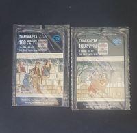 Greece Phonecard Mint Theofilos The Painter 02/97 - Greece