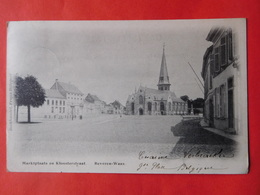 Beveren Waas 1902  Marktplaats En Kloosterstraat / Boekhandel, Frans Hillegeer - Beveren-Waas