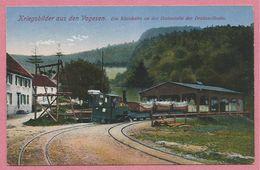 Vogesen - 67 - GRANDFONTAINE - Secteur DONON - SALM - Kleinbahn - Feldbahn - Station Drahtseilbahn - Guerre 14/18 - France
