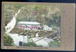 Cpa Australie Electric Power House , Lauceston , Tas.   MARS18-14 - Lauceston