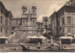 CARTOLINA - POSTCARD - ROMA - PIAZZA DI SPAGNA - Places & Squares