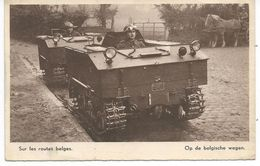Sur Les Routes Belges. (militaire) - Belgique