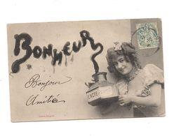 BERGERET NANCY  FEMME ENCRIER -  BONHEUR - - Vienne