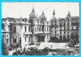 Monte Carlo Casino Et Hotel De Paris Carte Publicité Loterie Adressée à Hagondange(voir Dos) - Monte-Carlo