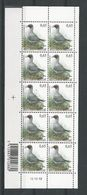 Belgique: 3268 ** En Feuillet - 1985-.. Oiseaux (Buzin)