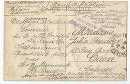 Marcophilie - Cachet Hopital Auxiliaire De Perpignan Annexe De L'esplanade 66 - 1918 - Marcophilie (Lettres)
