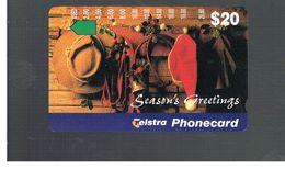 AUSTRALIA -  SEASON'S GREETINGS           - USED  - RIF. 10332 - Australia