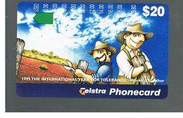 AUSTRALIA -  1995 INT. YEAR FOR TOLERANCE           - USED  - RIF. 10332 - Australia