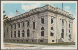 US Custom House And Post Office, Newport News, Virginia, C.1909 - Kaufmann Postcard - Newport News