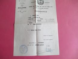 Doc Administratif/Extrait De Naissance/ Michel Grelounaud/ Vaucluse/ Avignon/BOLLENE/ 1974         AEC131 - Other Collections