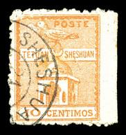 O MAROC POSTES LOCALES, N°147, 10c Orange, Bord De Feuille. SUP (certificat)   Qualité: O   Cote: 700 Euros - Marokko (1891-1956)