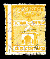 O MAROC POSTES LOCALES, N°149, 25c Jaune. SUPERBE. R.R. (certificat)   Qualité: O   Cote: 2400 Euros - Marokko (1891-1956)