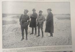 1112 Poètes écrivains Au Front Rostand Barrès Laudet    14*23 Cm - 1914-18