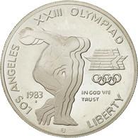 États-Unis, Dollar, 1983, U.S. Mint, San Francisco, SUP+, Argent, KM:209 - Federal Issues