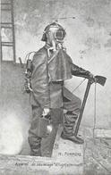 Pompiers - Appareil De Sauvetage Gluglielminetti - Edition Staerck Frères, Paris - Carte N° 76 Non Circulée - Sapeurs-Pompiers