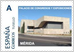 """Spain 2018– España """"Tu Sello"""". Sello Personalizado """"Palacio De Congresos""""  De Mérida - Monumenti"""