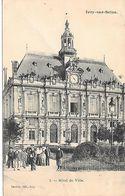 CARTE POSTALE 94 IVRY SUR SEINE HOTEL DE VILLE VOYAGEE - Ivry Sur Seine