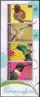 Bloc Sheet Oiseaux Colibris Birds Humminbirds Neuf MNH ** Antigua & Barbuda 2014 - Hummingbirds