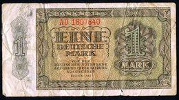 Schöne Alte Und Seltene 1 Deutsche Mark Banknote Von 1948 - 1 Mark