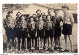 Photo Carte Scouts Scoutisme Montpellier  1947-1948 - Guerre, Militaire