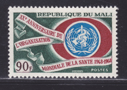 MALI N°  108 ** MNH Neuf Sans Charnière, TB (D6265) OMS, Organisation Mondiale De La Santé - Mali (1959-...)