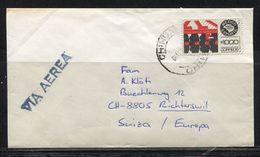 Mexico, 1988,  Cover N. Richterswil Schweiz - México