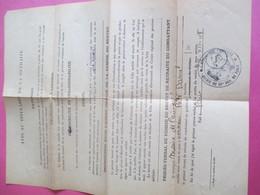 Militaria/Doc Administratif/Ministère Des Anciens Combattants/ Retraite Du Combattant/Daniel PEDE/1948   AEC135 - Other Collections
