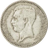Belgique, 20 Francs, 20 Frank, 1934, TB, Argent, KM:103.1 - 1909-1934: Albert I