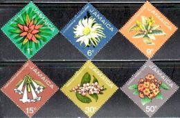 6 Different Flowers, Jamaica Stamp SC#369-374 Mint Set - Jamaique (1962-...)