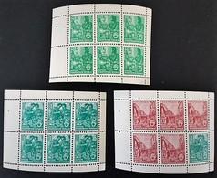 1960 Fünfjahrplan  Heftchenblätter Michel 7A,8AX,9A **) - [6] Democratic Republic